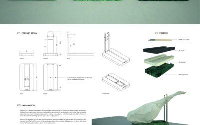 Ganador en la categoría Diseño – HamoonWinner of Design Competition – Hamoon