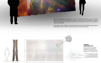 Ganador en la categoría Diseño – 016 – Una galaxia de coloresWinner of Design Competition – 016 – Una galaxia de colores