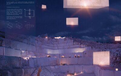 Ganador en la categoría Diseño – Ascension of the StonesWinner of Design Competition – Ascension of the Stones