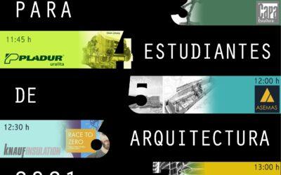 Presentacion online del concurso en la Escuela de Sevilla   Online presentation of the contest at the School of Seville