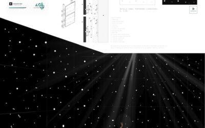 Ganador en la categoría de Arquitectura – 107 – Dancing prismWinner of Architecture Competition – 107 – Dancing prism