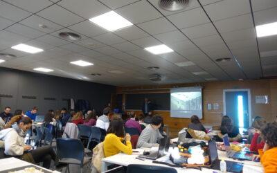 PRESENTACIÓN DE LA NUEVA EDICIÓN DEL CONCURSO COSENTINO DESIGN CHALLENGE EN LA ETSA DE SEVILLA (ETSAS)  PRESENTATION OF THE NEW EDITION OF THE COSENTINO DESIGN CHALLENGE CONTEST AT THE ETSAS (School of Architecture of Seville)