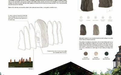 Ganador en la categoría Diseño – Eternal, memorial stoneWinner of Design Competition – Eternal, memorial stone