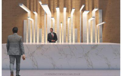 Ganador en la categoría Diseño – Hotel lobby  Winner of Design Competition – Hotel lobby