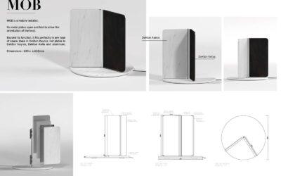 Accésit en la categoría de diseño – MobDesign Acknowledgement – Mob
