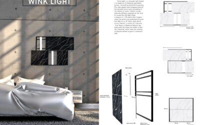 Accésit en la categoría de diseño – Wink LightDesign Acknowledgement – Wink Light